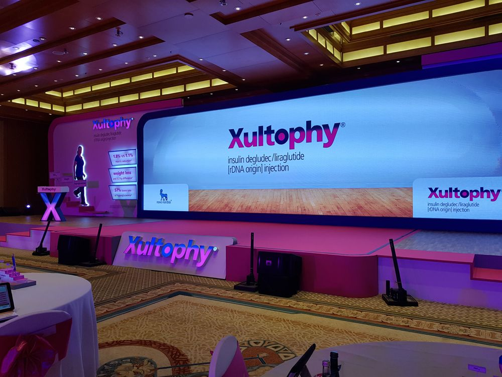 Xultophy Launch event