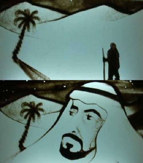 Sand Animation Artist
