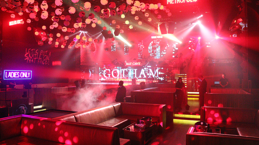 Gotha Nightclub Halloween party